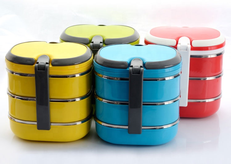 amazon top seller 2019 stainless steel tiffin lunch box bento box