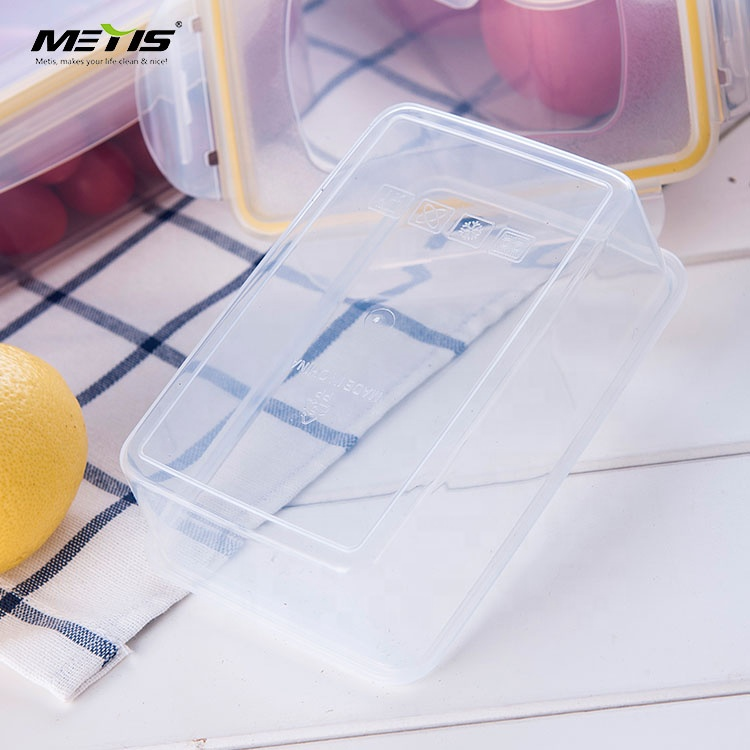 Trade Assurance Gold Supplier High Quality Transparent Plastic Crisper Box