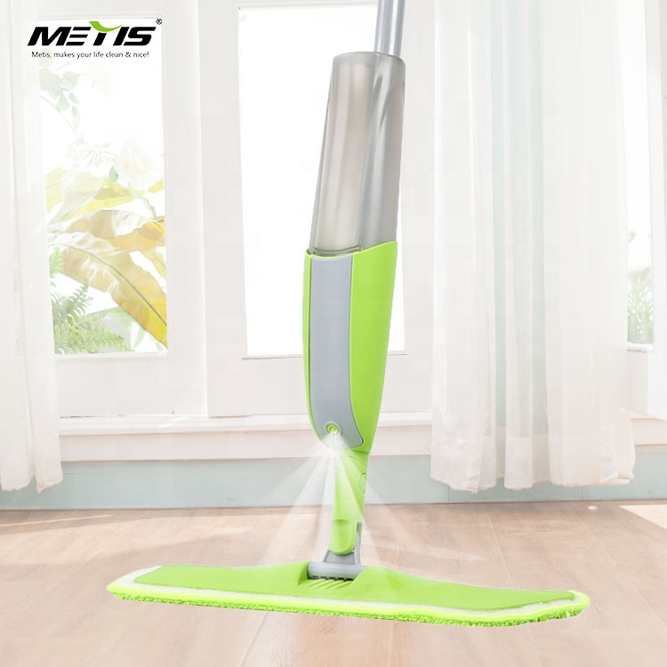 Large Water Bottle Capacity Double Microfiber Mops Cleaning Spray Mop and Window Cleaner