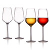 METIS wholesale unbreakable good quality plastic 350ml red wine glasses