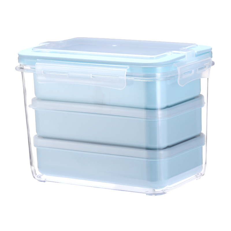 Plastic Microwavable Heated Thermal Leak Proof Bento Lunch Box