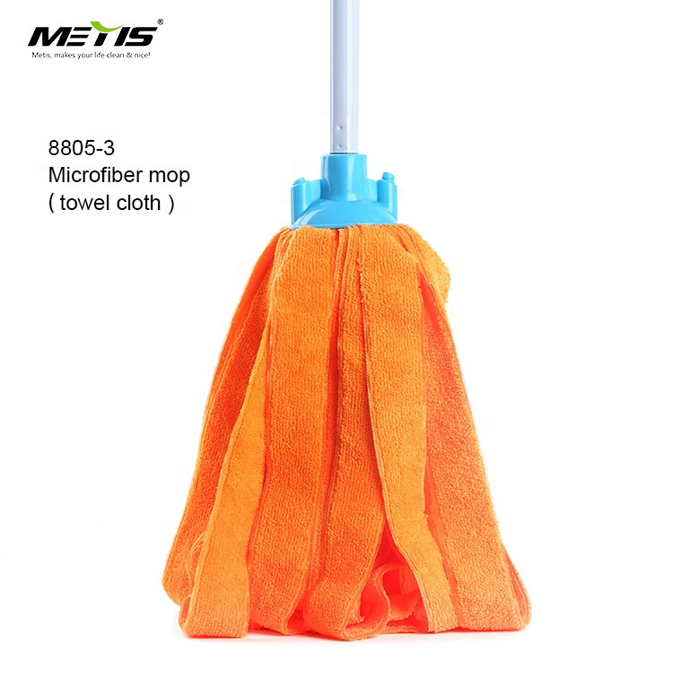 heavy duty head cotton floor mop cloth for airport shopping mall