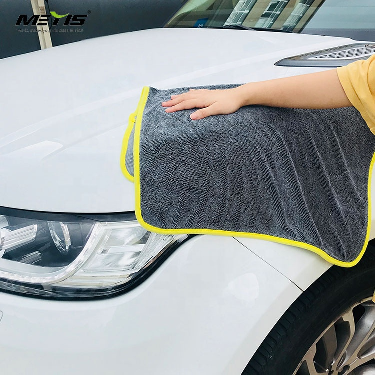 Manufacturer wholesale price ultrafine large size car wash cloth use for car