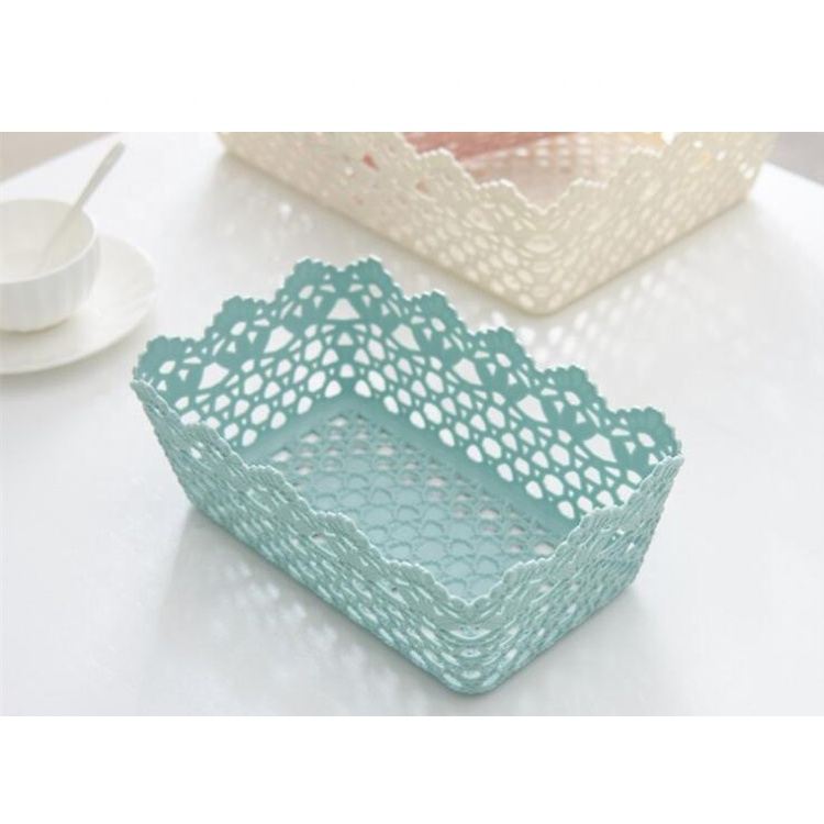 China Manufacturer Eco-friendly Good Quality Plastic Storage Basket