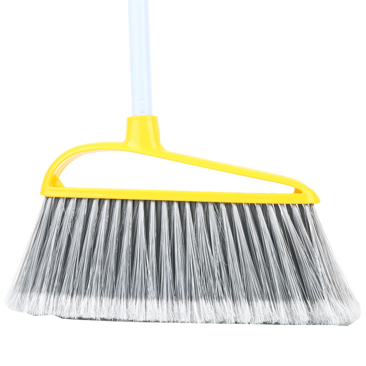 High quality angle broom floor broom with soft bristle