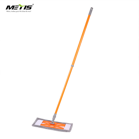 Microfiber Flat Mop with Reusable Mop Pads for Hardwood Durable Flat Dust Mop with Long Handle and Scraper