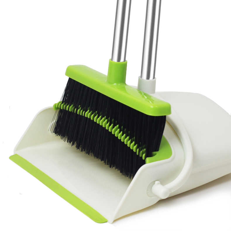 Amazon Top Seller Metis Trade Assurance 3 In 1 Magic Sweeping Broom And Dustpan Set With Cleaning Tooth