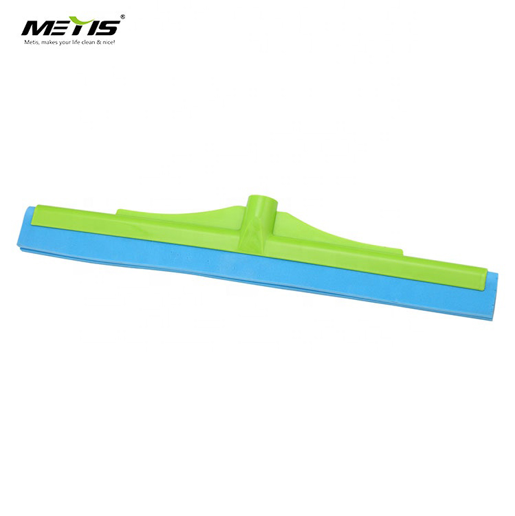 Wholesale rubber blade floor wiper mop squeegee with extendable handle