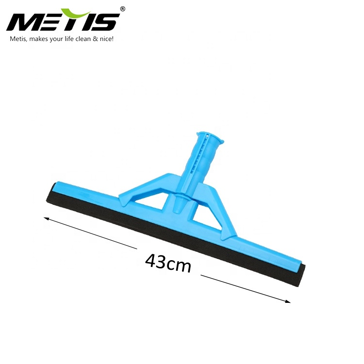 China Professional Manufacturer Plastic Cleaning Floor Wiper With Colorful EVA Rubber