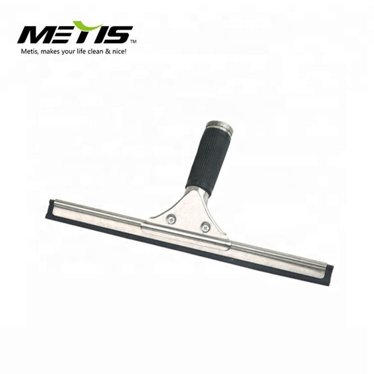 Stainless steel silicone window cleaning squeegees professional