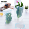 Kitchen cereal container clear food storage with lids plastic containers flip top containers