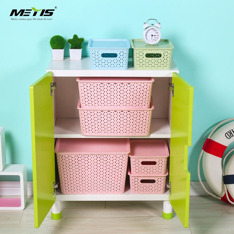 Wholesale snack and toy storage basket play mat with lid