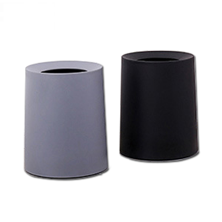 High Quality Plastic PP Round mini Waste Bin trash can garbage can for home
