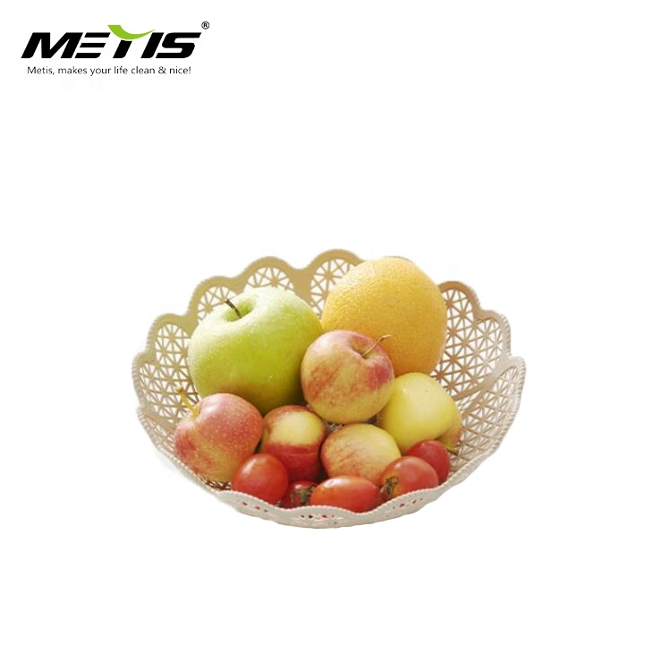wholesale food grade PS flower shape fruit tray transparent plastic fruit dish dry fruit tray dish plates