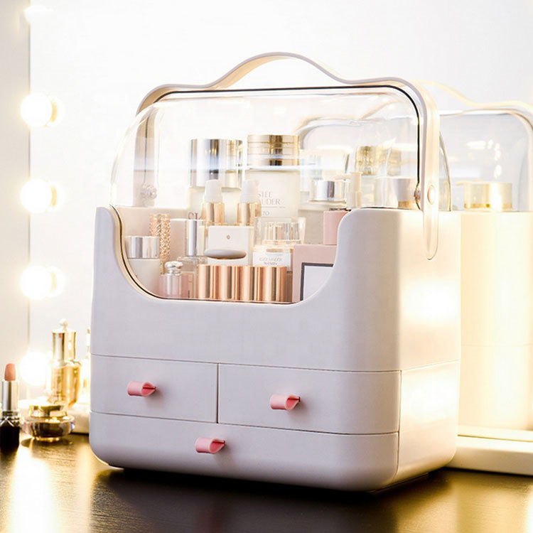 2020 new design The star with plastic skin care box use for cosmetic storage