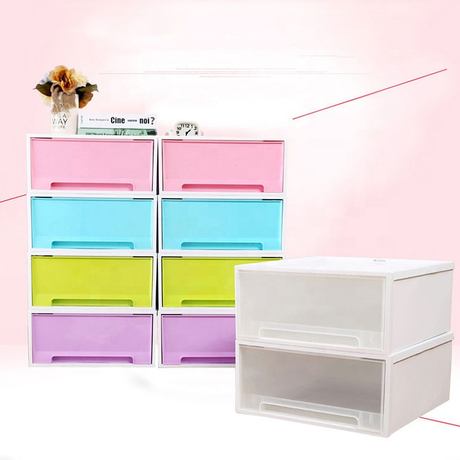 2020 new design Plastic storage containers for household use can be overlaid