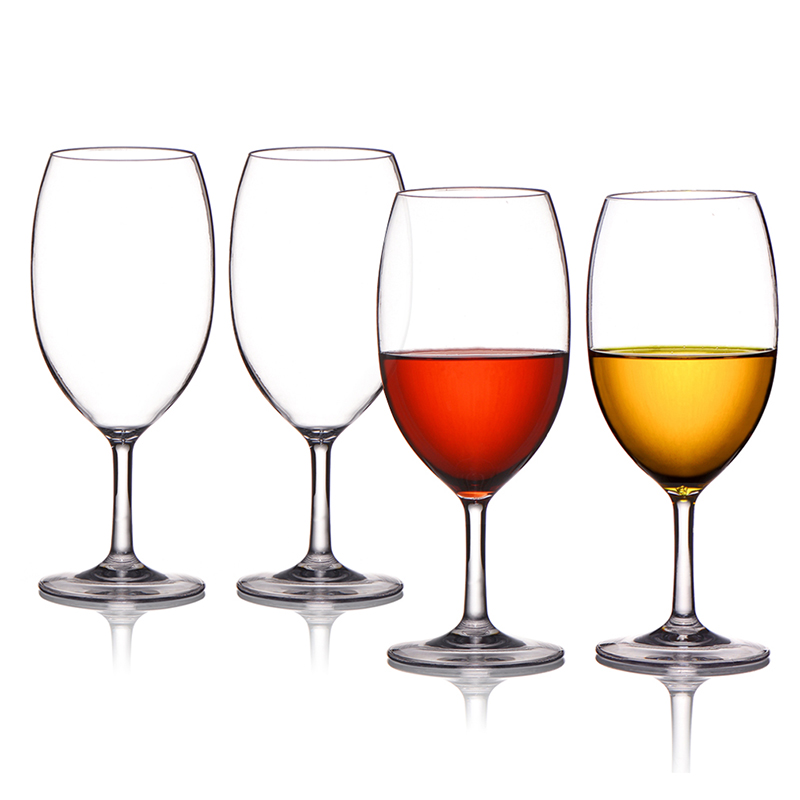 Factory wholesale price is not easy to break high quality 100%tritan material wine glasses