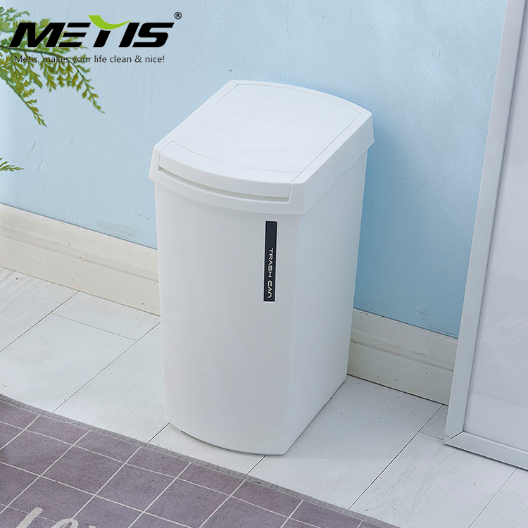 China manufacturer PP plastic big push dustbin garbage bin