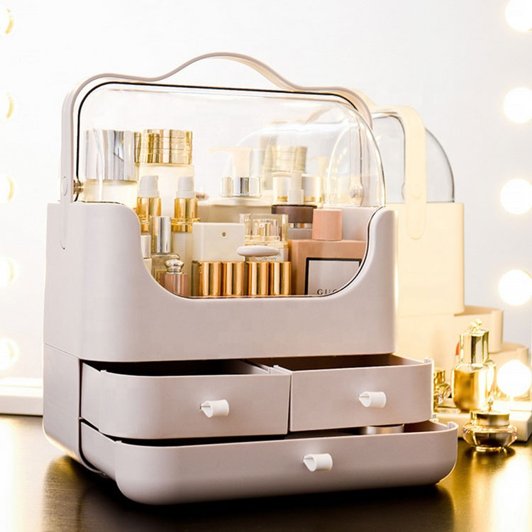 Wholesale pp make up tackle storage organizer box
